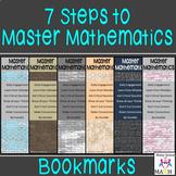Bookmarks 7 Steps to Master Mathematics