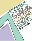 7 Steps to Writing Strong Essays in University