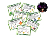 7 Steps to Supporting Successful Writing (Tropical Emoji Theme)