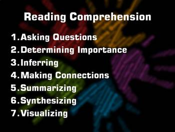 7 Strategies for Reading Comprehension (2 files 16x9 and Standard Format)