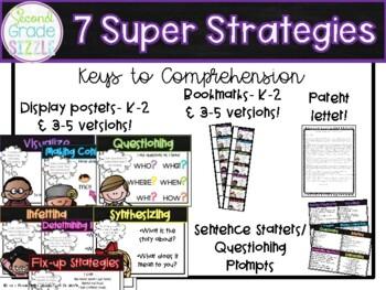 7 Super Strategies Keys To Comprehension Reading