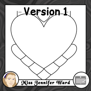 7 Tabs : Book Clipart Sets : Hearts