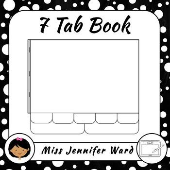 7 Tab Book Template