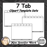 7 Tabs : Book Clipart Sets