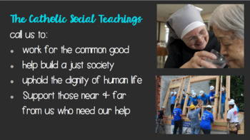 7 Themes of Catholic Social Teaching Lesson and Quiz