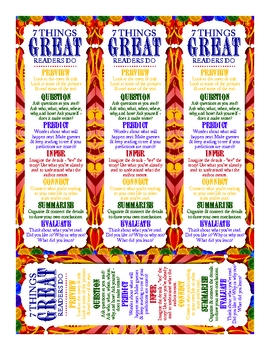7 Things Great Readers Do Bookmarks