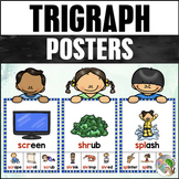 Trigraph (3 Letter Blends) Posters