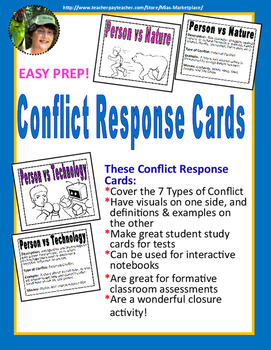 7 Types of Conflict Response Cards