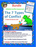 7 Types of Conflict  Unit:  PowerPoint, Conflict Response Cards & Assessment
