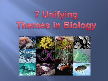 7 Unifying Themes in Biology