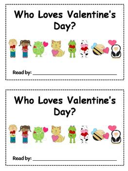 8 Valentines Day Emergent Readers
