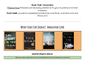 7-Week Book Study Unit *Accommodations, CCSS, and Final Exam included!*