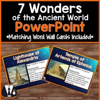7 Wonders of the Ancient World PowerPoint