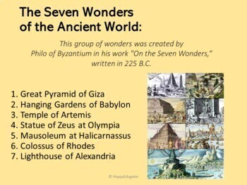 7 Wonders Of The Ancient World Pictures