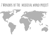 7 Wonders of the World Project / Unit (Medieval World)
