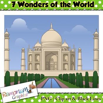 Wonders of the World Clip art