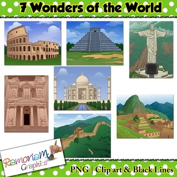 Wonders of the World Clip art