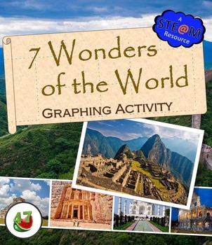 7 Wonders of the World: STEAM Graphing Activity