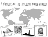 7 Wonders of the World Project / Unit (Ancient World)