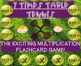 Multiplication Tennis Game - 7 Times Tables!