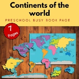 7 continents of the world