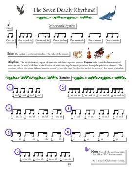 7 deadly rhythms