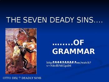 7 deadly sins of grammar