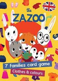 7 families card game (English) - Clothes and colours