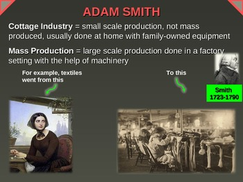 7 ideas from Adam Smith - visual, engaging, easy, fun