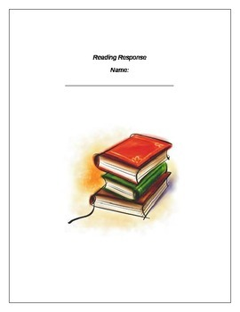 7 part reading response -works with any book or story