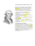 7 principles of the Constitution part 1 -- Cloze reading
