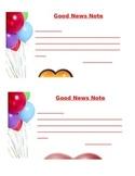 7 printable good news notes