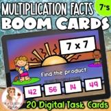 7's Multiplication Facts BOOM Cards | Digital Task Cards