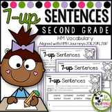 7-up Sentence Writing Using 2nd Grade Vocabulary Words Aligned with HMH Journeys