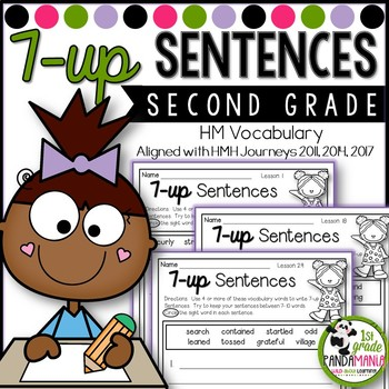 7-up Sentence Writing Using Houghton Mifflin Journeys 2nd