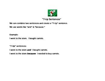 7 up sentences