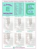 70 Grammar Scrambled Sentences Worksheet Book