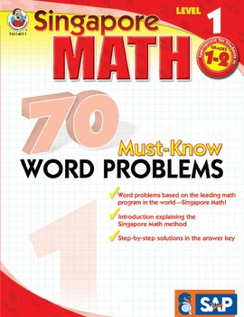 70 Must-Know Word Problems Grades 1-2 SALE 20% OFF! 0768240115