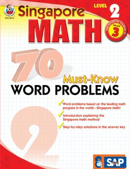 70 Must-Know Word Problems Grade 3 SALE 20% OFF! 0768240123