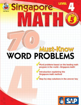70 Must-Know Word Problems Grade 5 SALE 20% OFF! 076824014X