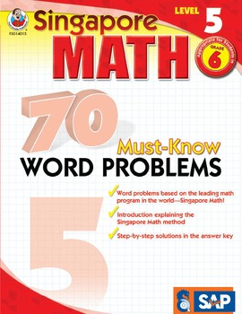 70 Must-Know Word Problems Grade 6 SALE 20% OFF! 0768240158