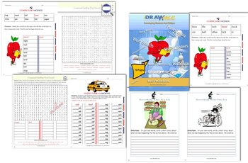 70 Page Activity Mega Workbook - Word Ladders, Compound Words & More