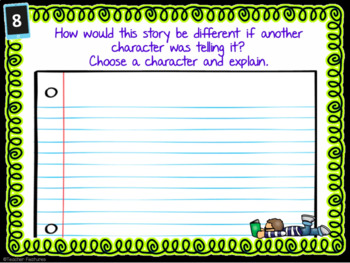 Reading Comprehension Task Cards for Fiction and Nonfiction Texts