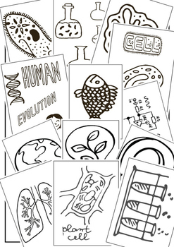 70 Science Coloring Pages