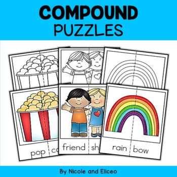 Word Work Puzzles - Compound Words
