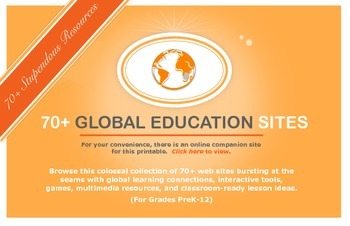 70+ Stupendous Web Sites for Promoting Global Education (Grades PreK-12)