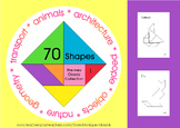Tangram: 70  Shapes - The new Classic Collection 1 - Math Mats