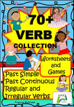 70+ Verb Collection for EAL / ESL / ELL