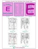 70 Vocabulary Decoder Box Worksheet Book