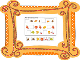 70 page preschool and daycare curriculum package with Fall themed games.